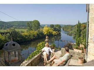 Spectacular River & Chateaux views+walk to bistros - Sarlat-la-Canéda vacation rentals
