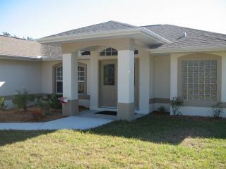 Front Entrance - Florida Retreat-vacation home for rent-North Port - North Port - rentals