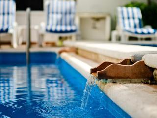 Casa Tomas-tropical garden, 2 level-pool, fountain - Cozumel vacation rentals