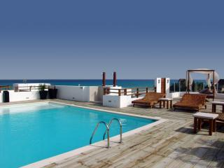 Large pool on rooftop with view of the ocean - Beachfront Penthouse with Rooftop Pool  - CDM311 - Playa del Carmen - rentals