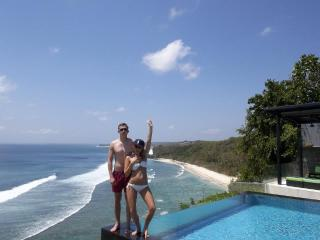 Oceanfront Clifftop Suluban Cliff Villa Uluwatu - Bali vacation rentals