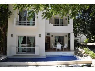 """CK01-01AUG09-279 - Beautiful Villa with private pool- Playacar """"CK01"""" - Playa del Carmen - rentals"""