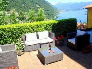 Luxury lake view garden apartment - Brienno vacation rentals
