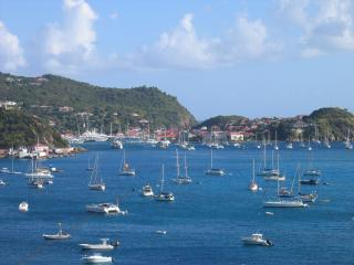 View over Gustavia Harbor - L'Etoile du Marin - Saint Barthelemy - rentals