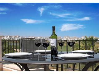 Dine alfreso, overlooking the golf course - Frontline townhouse, with stunning views - Region of Murcia - rentals