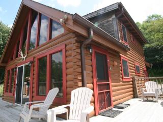 Sechuded Luxury Log Cabin 2 Miles to SS Spa WiFi - Snowshoe vacation rentals