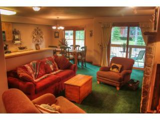 Living - 2 Bedroom Ski Out Condo for Rent - Breckenridge - rentals