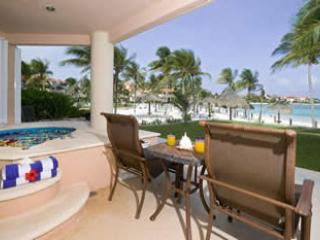 TERRACE - Beachfront views Villas del Mar C 103 Villa Paradi - Puerto Aventuras - rentals