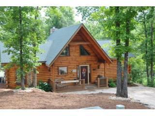 All Wood LogCabin HotTub in Woods  2, 3, 4, 6 bdrm - Missouri vacation rentals