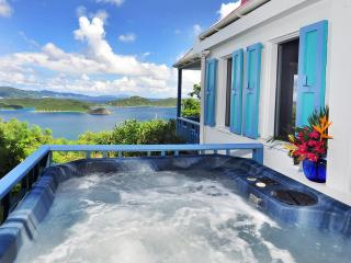 Sago Cottage: Romantic, private, spa. fantastic view - Virgin Grand Estates vacation rentals