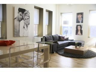 Living Room - Flatiron District - 19th St Luxury Apartment - New York City - rentals