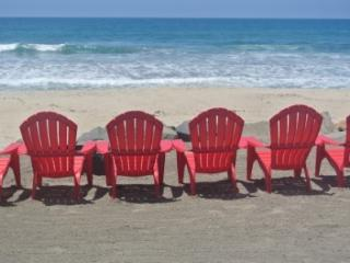 Classic  Beach Cottage on Sand w/ Private Beach - Oceanside vacation rentals