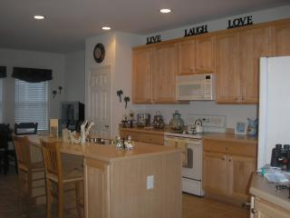 Fully equipped kitchen - all kitchen tools needed for large &small families - counter seating for 2 - Ideal Townhouse on Sunset Island in Ocean City, MD - Ocean City - rentals