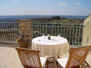 Large terrace with spectacular views - Maison Baudinard - Boutique village house - Baudinard-sur-Verdon - rentals