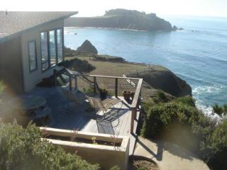 Dramatic, romantic oceanfront 2 bedrm/2 bath home - Gualala vacation rentals