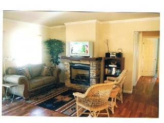Living Room with Gas Fireplace - Year Round Escape Close to Beach and Ski Resort - Homewood - rentals