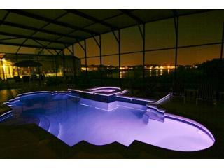 Night Time Pool Blue - The Waters Edge - Award Winner 2011 - 2012 - 2013 - Kissimmee - rentals