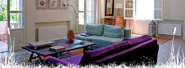 The living room - Villa Daphni. Luxury villa in Kefalonia, Greece. - Cephalonia - rentals