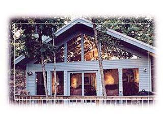 South side of all 1 bedroom cottages, facing Beaver Lake - Beaver Lake Cottages - Romantic glass front cabins - Eureka Springs - rentals