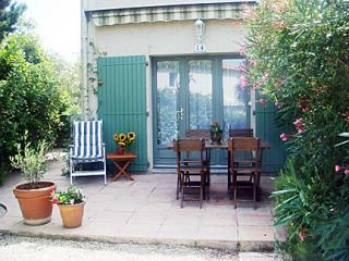 Private garden and patio. - Heart of Provence-Air Conditioned, Pool, 2 bedroom - Maussane-les-Alpilles - rentals