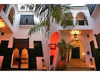 courtyard and entrance - Riad Al Janoub: Stunning Boutique Riad - Marrakech - Marrakech - rentals
