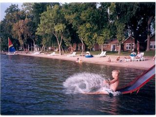 Family beach cabin-Spicer, Minnesota - Minnesota vacation rentals