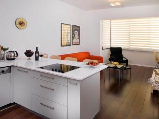 STAR - CHIC!  2 bedroom off trendy Basel Sq. - Israel vacation rentals
