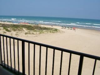 Beach View from our Balcony - South Padre Island Beachfront Condo for Rent - South Padre Island - rentals