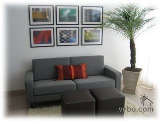 Living Room - Panoramic Views to the Right - Stunning Panoramic Ipanema Views - 2br/2ba - NEW! - Rio de Janeiro - rentals