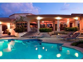 Outdoor living area around pool - Villa de la Fuente - Cabo San Lucas - rentals