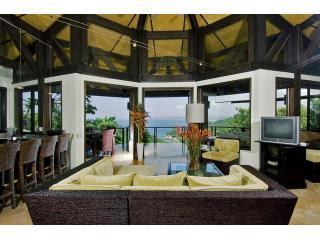 Social Area With a View - Ocean Views, Wildlife, 4 Pools, Secluded Beach - Manuel Antonio National Park - rentals