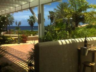 Seaview from outdoor terrace - Mambo Beach Townhouse at Sea Aquarium - Willemstad - rentals