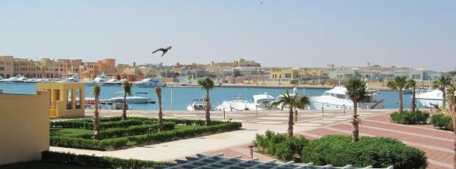 Actual View - vue actuelle - Luxury Marina Apartment El Gouna Red Sea Egypt! - El Gouna - rentals