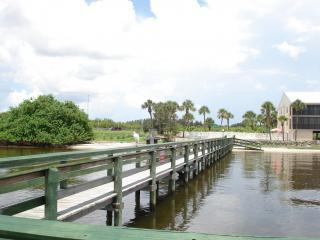 View from private dock - Fishing Paradise with private pier  at El Jobean - Port Charlotte - rentals