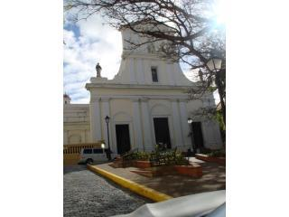 Old San Juan Cathedral one block away - Old San Juan Calle San Jose #107 - San Juan - rentals