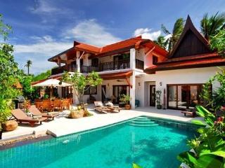4 Bedroomed Luxury Beach Villa - Lamai Beach vacation rentals