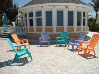 Breakers 1 - front of hosue - Breakers 1 - deluxe 3-bedroom home on beach - Holmes Beach - rentals