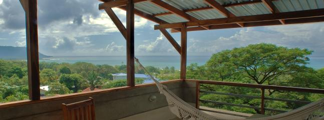 Vista with skyline from terrace - Casas de Soleil- Luxury Homes for your Vacation - Santa Teresa - rentals