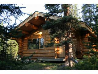 Outside Cabin - Rocky Mountain Escape - Wilderness Cabins - Jasper - rentals
