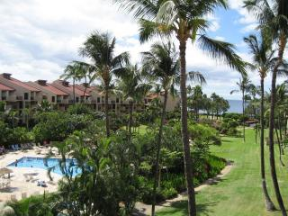 View From Lanai - Kamaole Sands 3-401, Center Court Top Flr, End Unt - Kihei - rentals