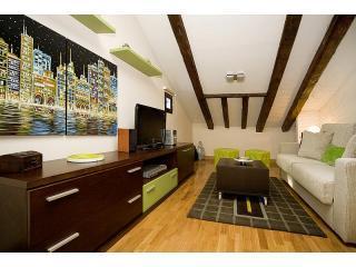 Living area - Apartment in Ministriles art Sq, ATTIC unit - Madrid - rentals