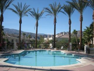 Pool by Club House - Beautiful Villa in Puerta Azul - Desert Paradise - La Quinta - rentals