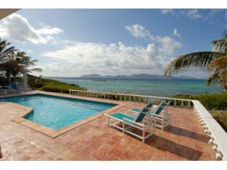 Patio Eastern View - Oceanfront villa in Anguilla - Long Bay Village - rentals