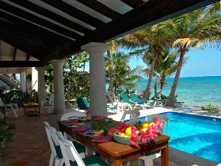 Charming Hacienda style villa in South Akumal with guesthouse. - South Akumal vacation rentals