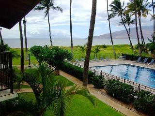 Waiohuli Beach Hale #D-214 Oceanfront Garden View 1B/1B. $99 SUMMER SPECIAL! - Kihei vacation rentals
