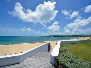 Enjoy this beachfront Baie Rouge villa with your family or another couple. C HEL - Baie Rouge vacation rentals
