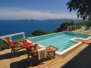Unforgettable blue ocean views abound from this exquisite villa. MAT TOA - Great Camanoe Island vacation rentals