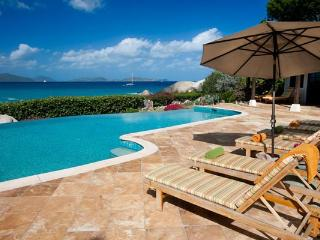 Deluxe private beach estate surrounded by natural beauty. MAV SOL - Virgin Gorda vacation rentals