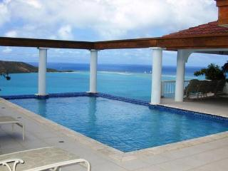 Overlooking the North Sound of Virgin Gorda, this villa embodies the mindset of simple luxury. VG TAM - British Virgin Islands vacation rentals