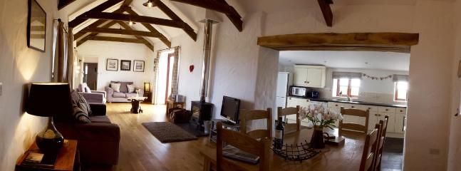 Ty Siencyn Living Room and kitchen - 5 * Luxury  Cottages in St Davids  with free wi-fi - Saint Davids - rentals